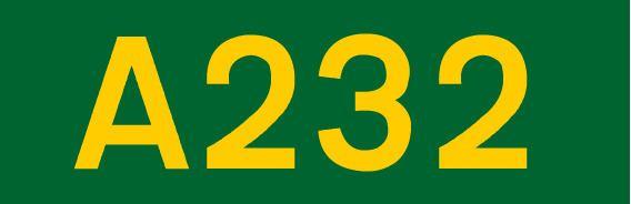 A232 road