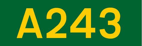 A243 road