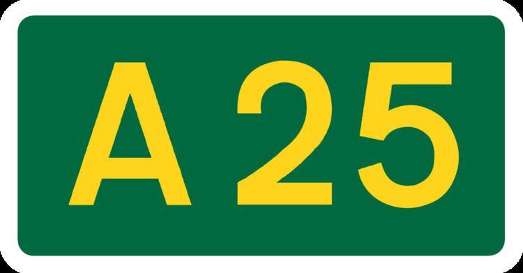 A25 road