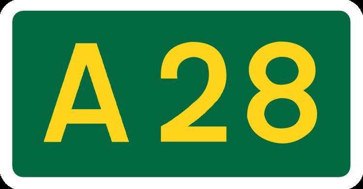 A28 road