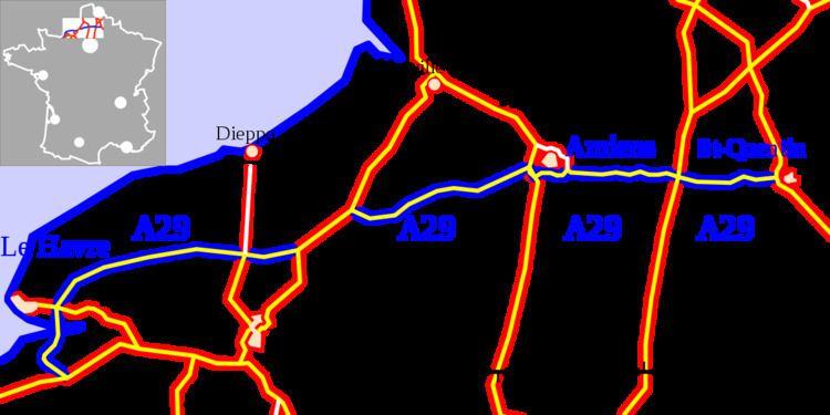 A29 autoroute
