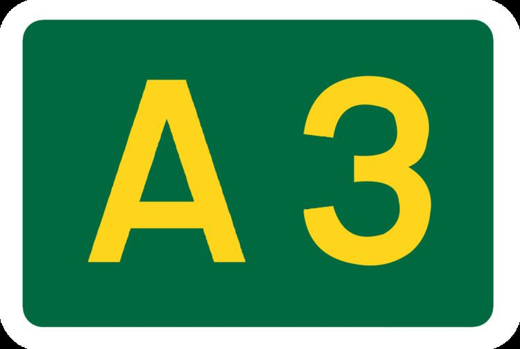 A3 road (Northern Ireland)
