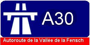 A30 autoroute
