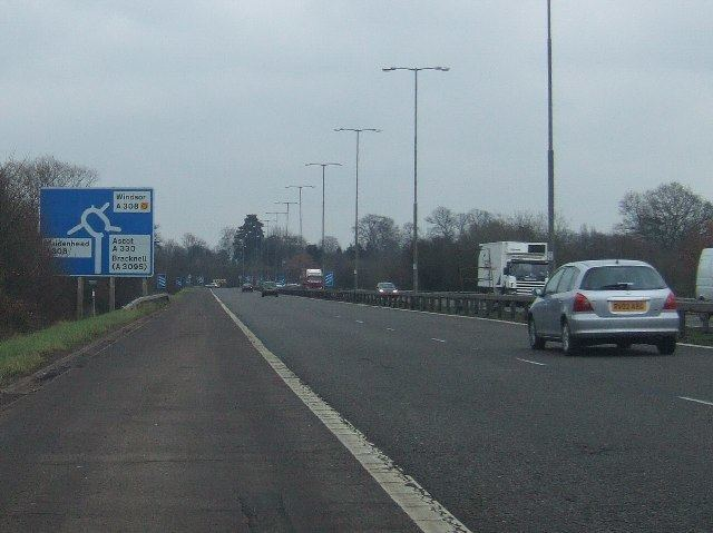 A308(M) motorway