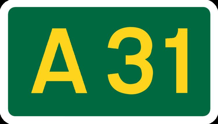 A31 road