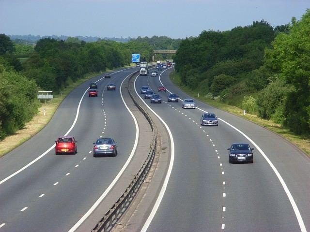A329(M) motorway