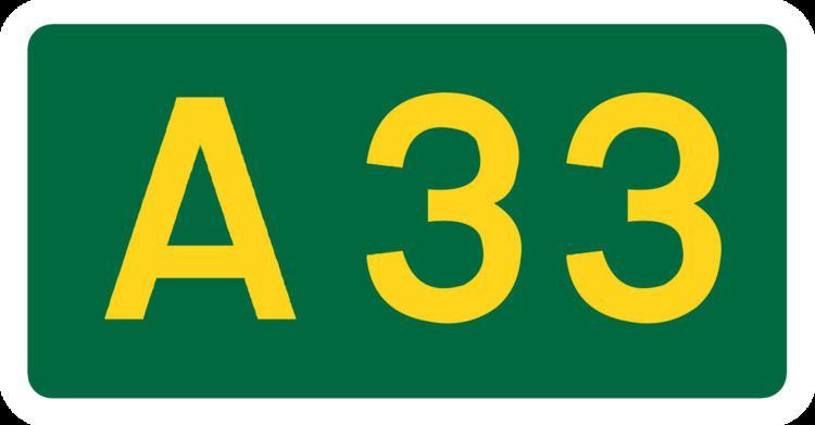 A33 road