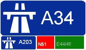 A34 autoroute