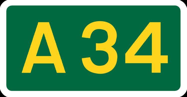 A34 road