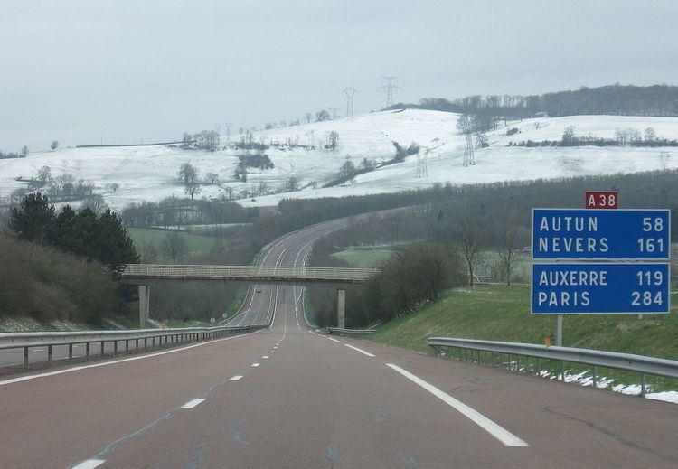 A38 autoroute