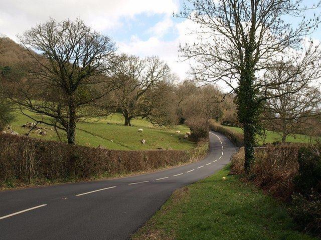 A382 road