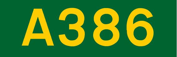 A386 road (England)