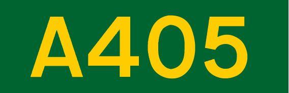 A405 road