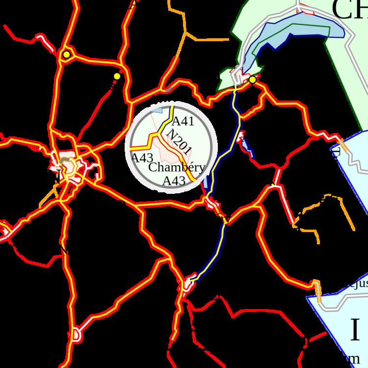 A41 autoroute