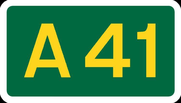 A41 road