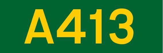 A413 road
