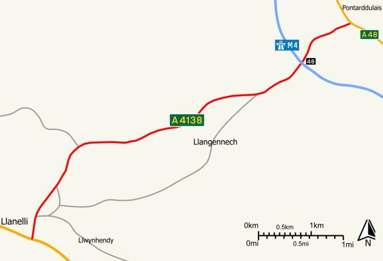 A4138 road