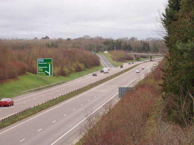 A419 road