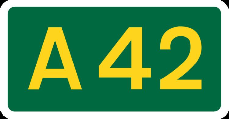 A42 road (England)