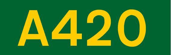 A420 road