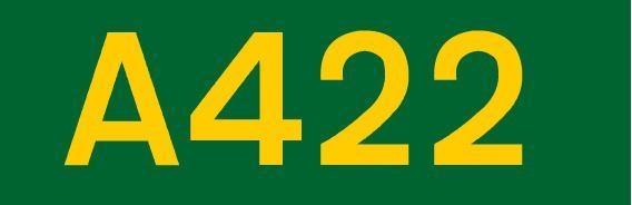 A422 road