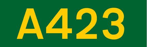 A423 road