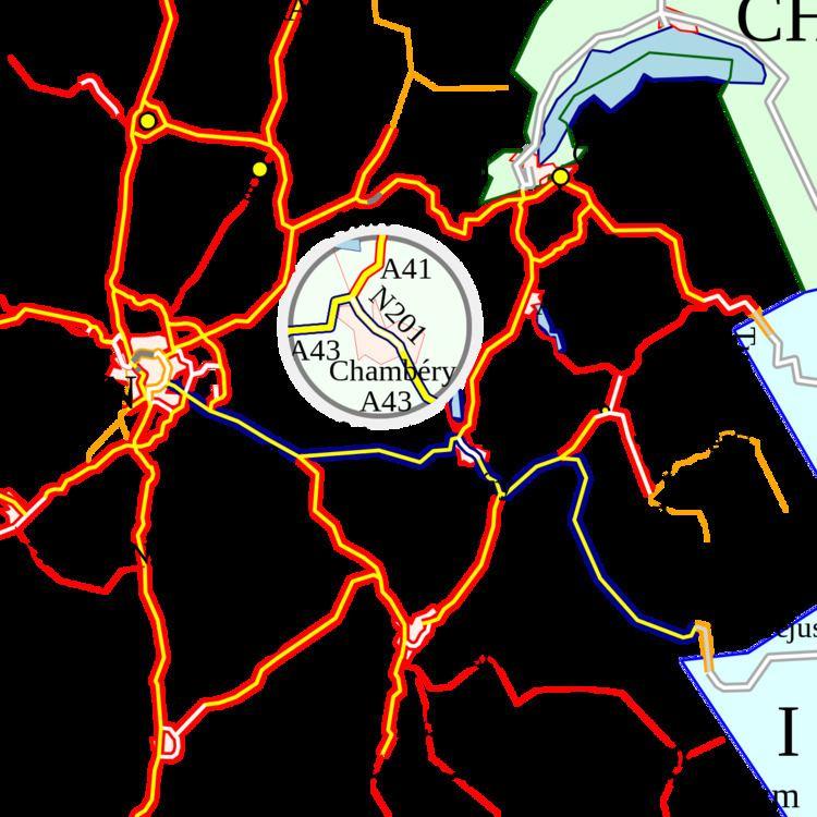 A43 autoroute