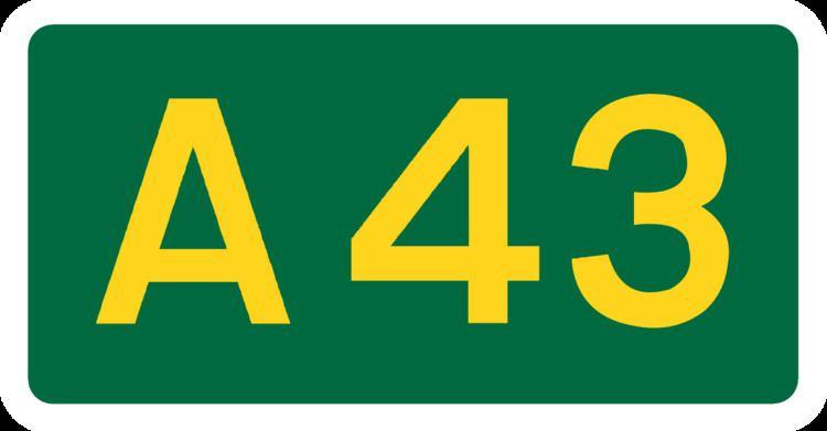 A43 road