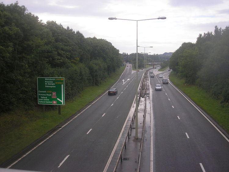 A442 road