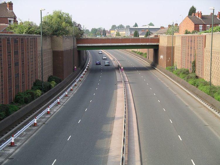 A444 road