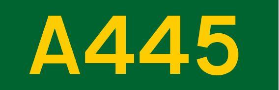A445 road