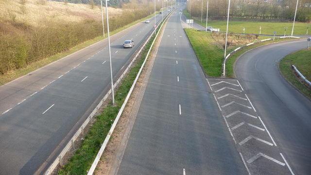 A448 road