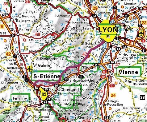 A45 autoroute Le projet d39autoroute A45 BrignaisSt Etienne c39est une catastrophe