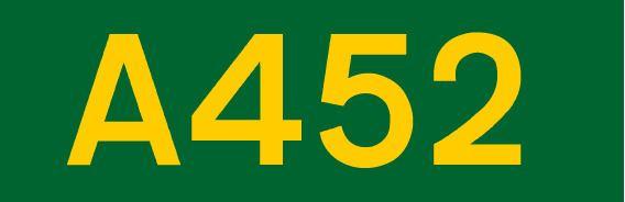 A452 road