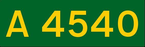 A4540 road