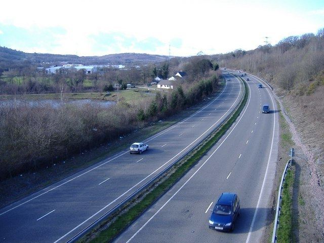 A469 road
