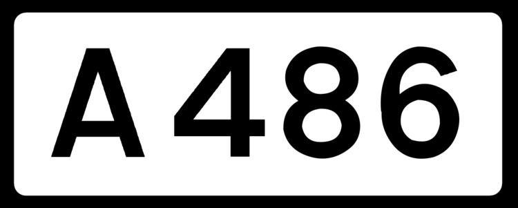 A486 road
