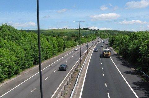 A48(M) motorway