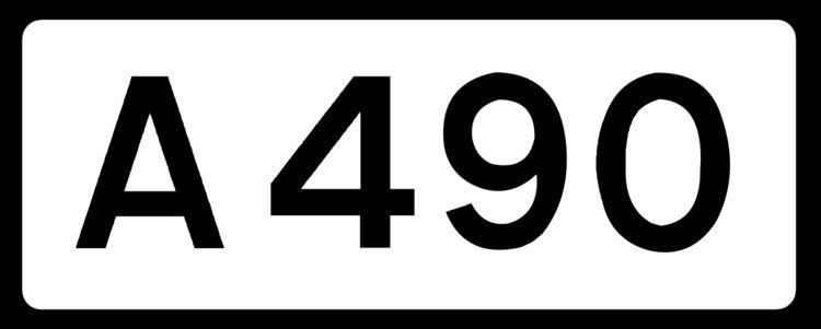 A490 road
