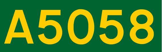 A5058 road