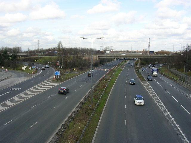 A5103 road