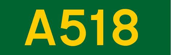 A518 road
