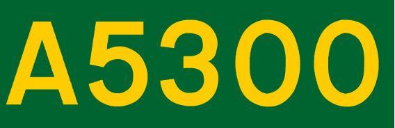 A5300 road