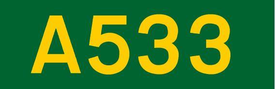 A533 road