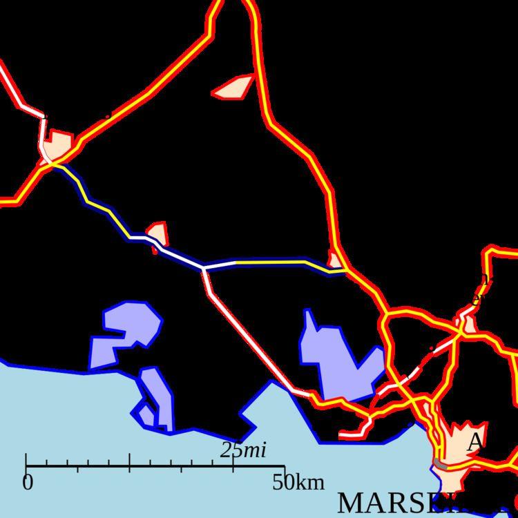 A54 autoroute