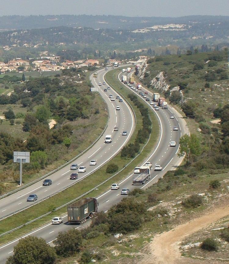 A55 autoroute