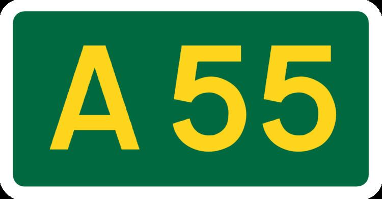 A55 road
