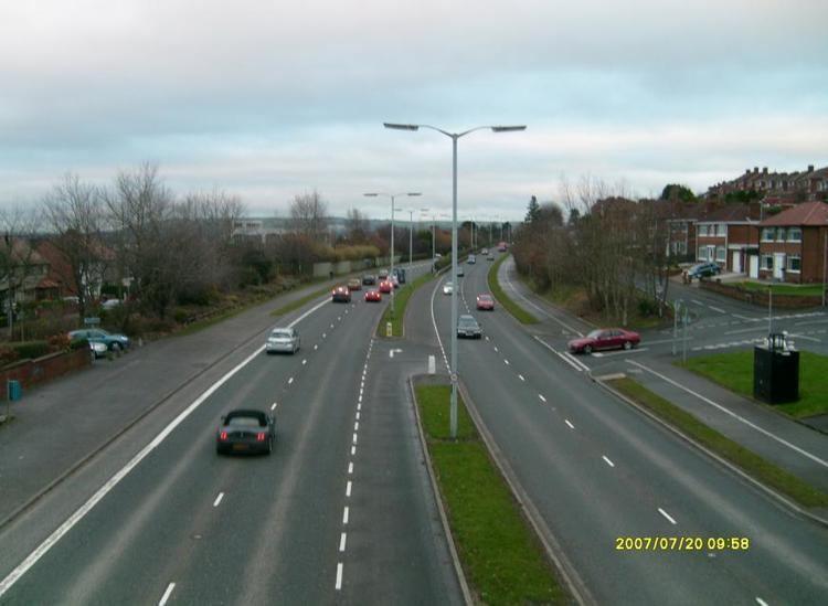 A55 road (Northern Ireland)