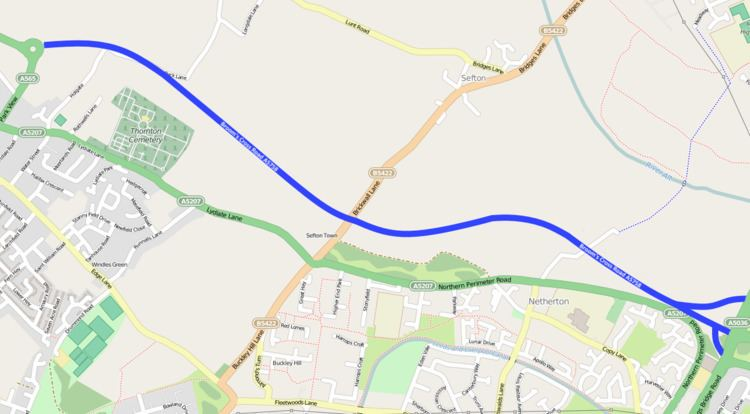 A5758 road