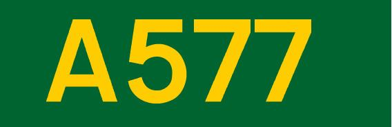 A577 road